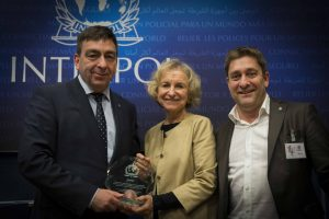 ECPAT International receives INTERPOL Award